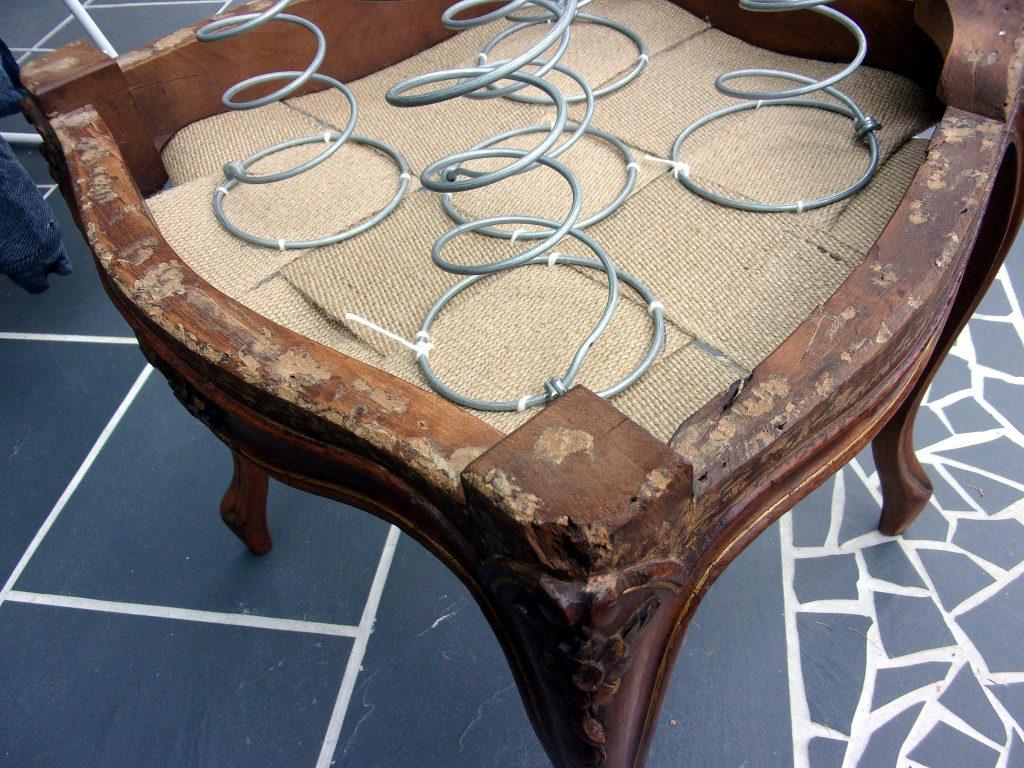 restauration chaises
