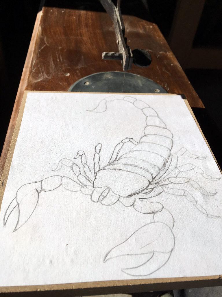 scorpion chantourne