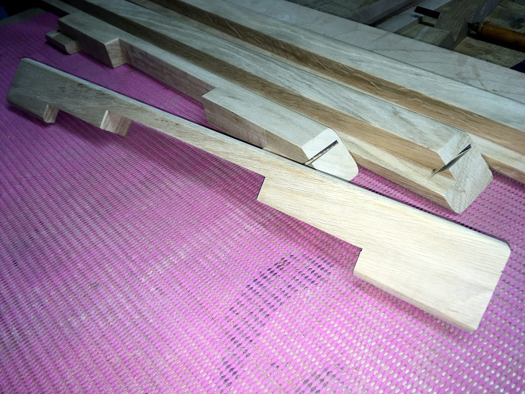hockey de table en bois chêne