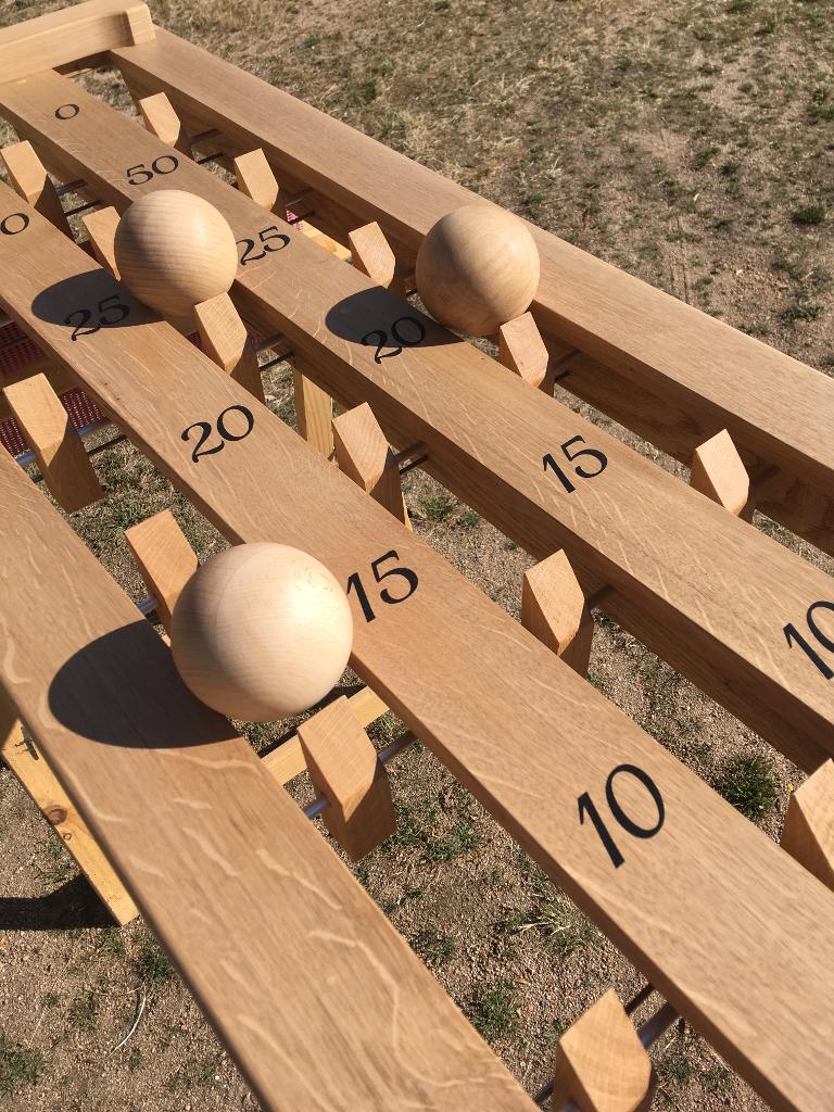 jeu clic-ball en chêne