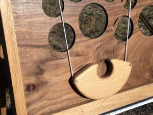 jeu du remonte balle en bois